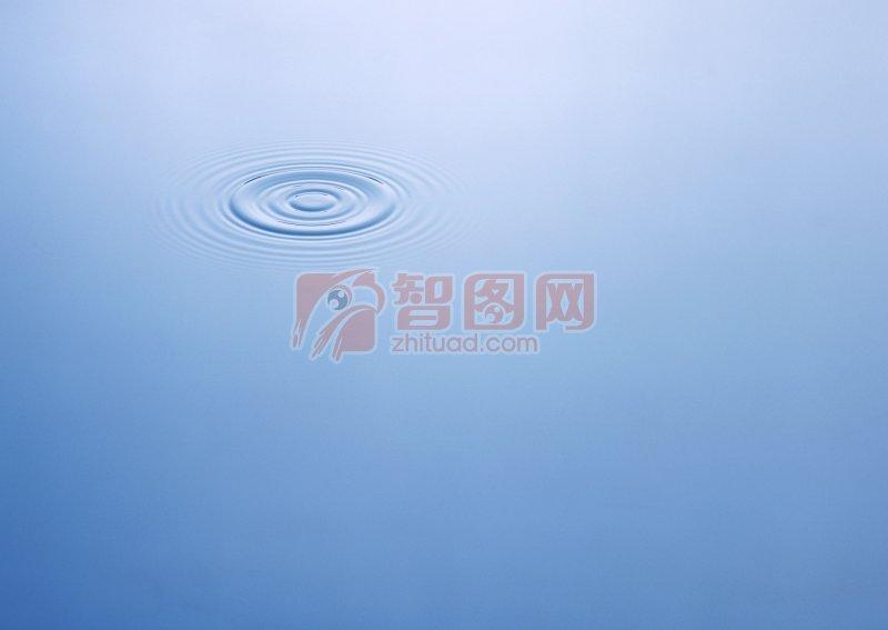 藍灰色背景水波攝影元素