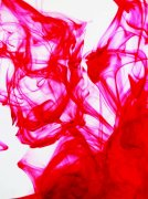 紅色紗布攝影