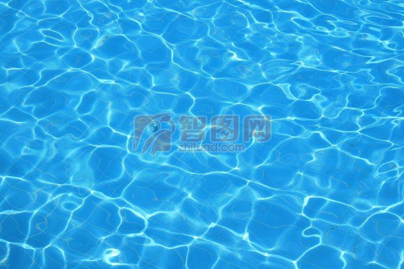 碧藍的海水