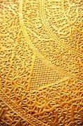 金色花紋元素