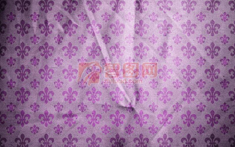 淡紫色布料