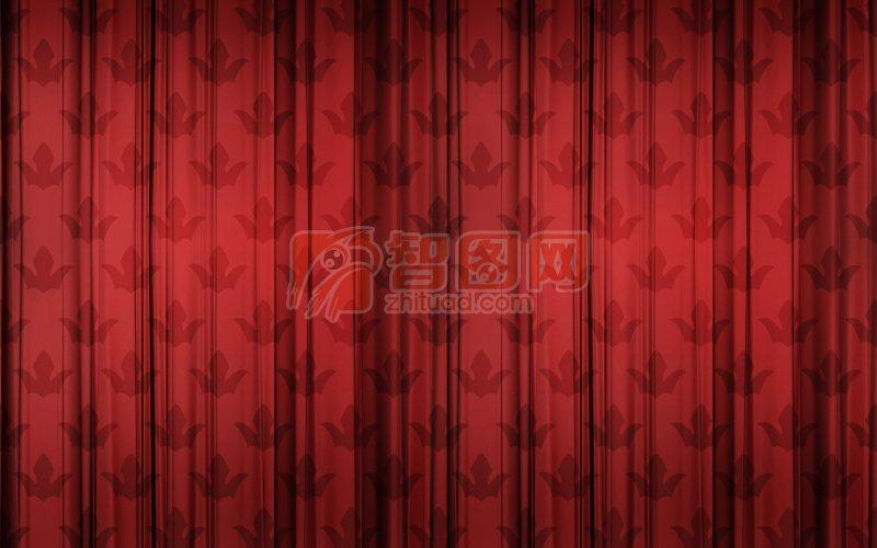 【jpg】暗红色布料摄影