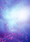 紫色泡泡素材