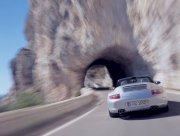 银色Carrera轿车元素