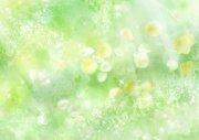綠色花朵元素