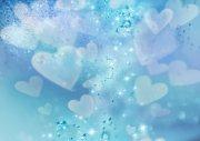 藍色愛心元素