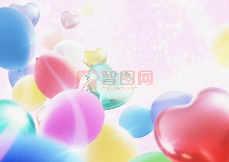 氣球攝影素材
