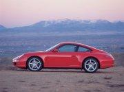 红色轿车素材
