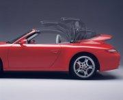 红色轿车元素