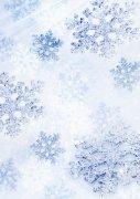 淺藍色背景雪花元素