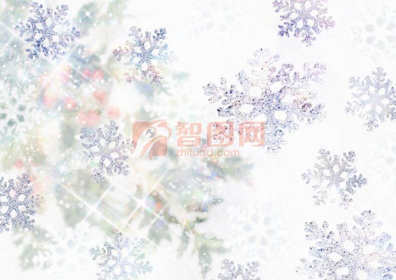 雪花素材元素
