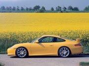 黄色轿车素材