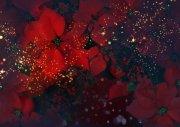 紅色背景節日元素