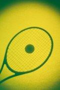 網球拍影子元素