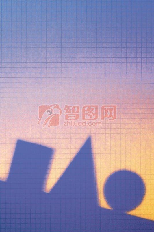 積木影子攝影元素