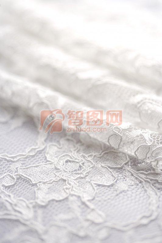 白色布料素材