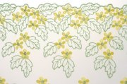 樹葉花紋布料