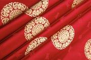 紅色絲綢攝影素材