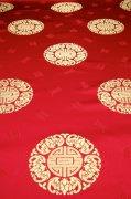 紅色絲綢素材