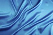 藍色絲綢攝影元素