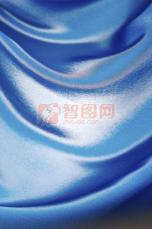 藍色布元素