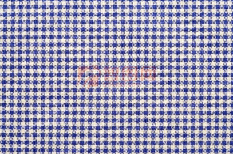 藍色格子布元素