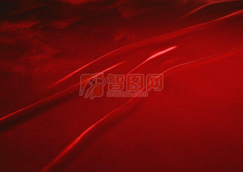 深紅色布素材