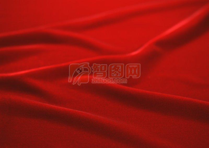 深紅色布攝影元素