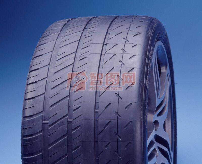 汽车轮胎特写