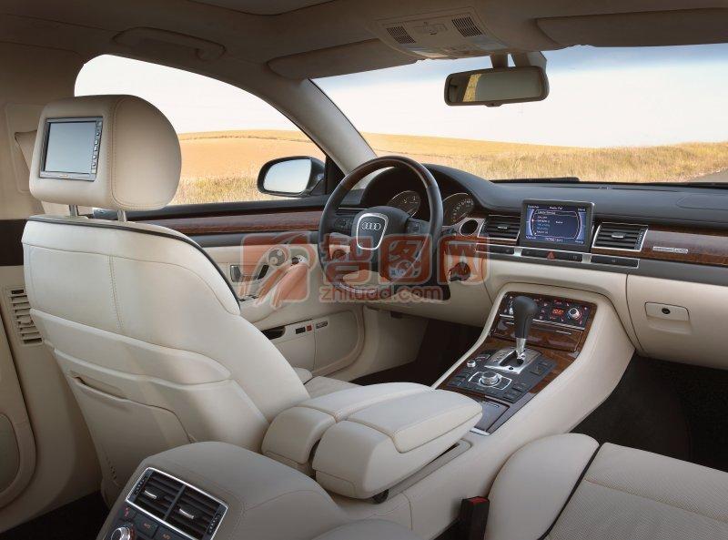 A8L轎車內部攝影元素