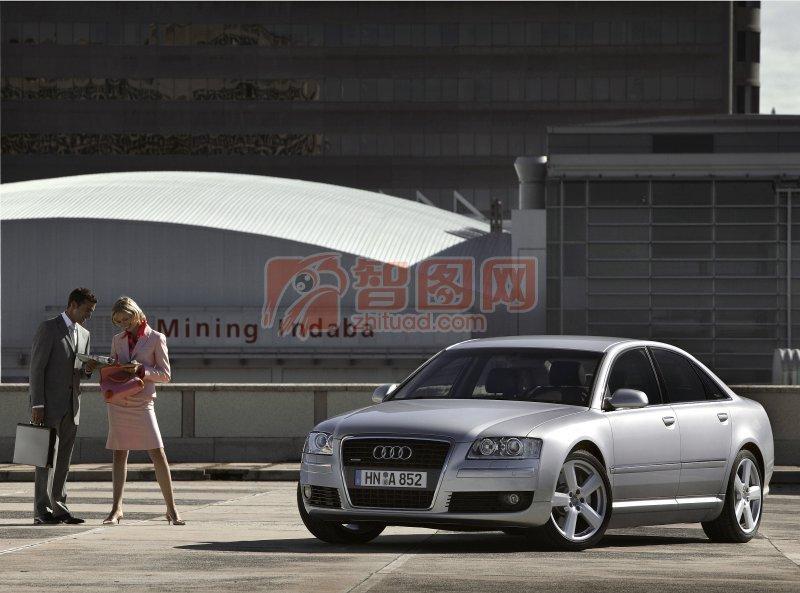 A8L轎車攝影元素