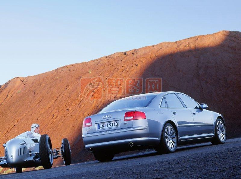 A8L轎車攝影
