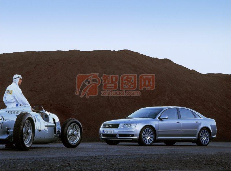 A8L轎車素材