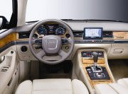 A8L轎車內部