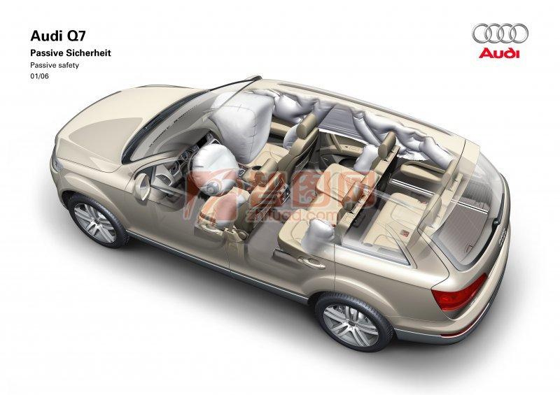 Q7轎車素材