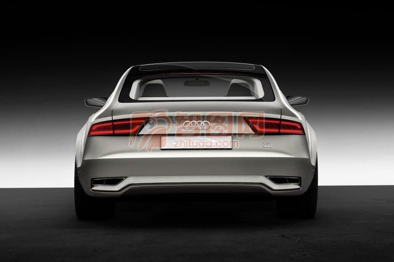 Sportback概念車尾部攝影