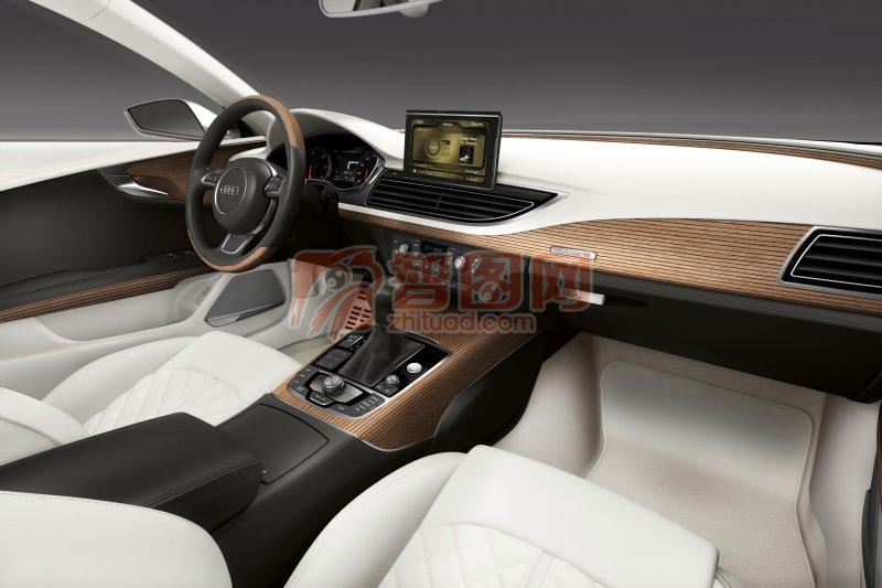 Sportback概念車內部攝影
