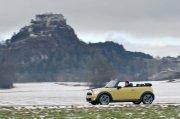 MINI轎車自然風景攝影