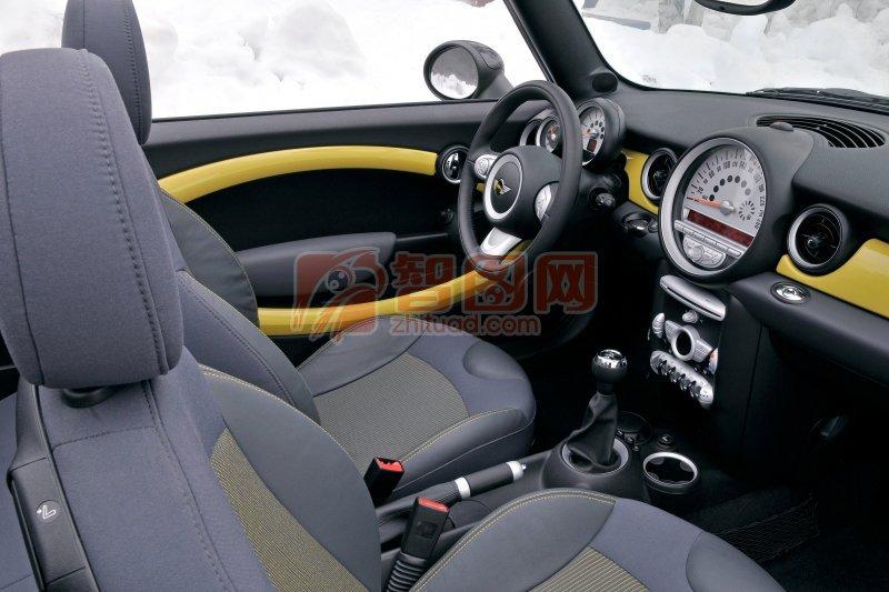 MINI轎車內部攝影