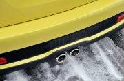MINI黃色轎車素材