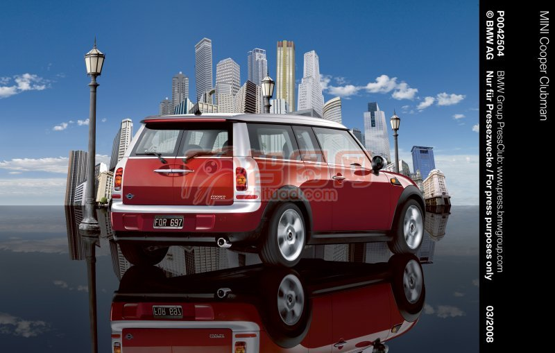MINI轎車高清攝影