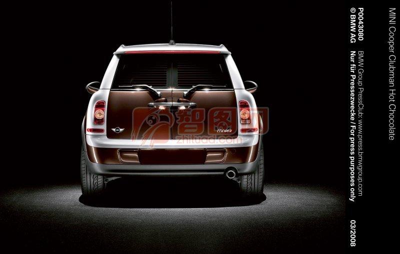 MINI轎車尾部攝影