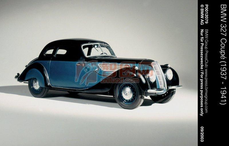 藍色古董車元素