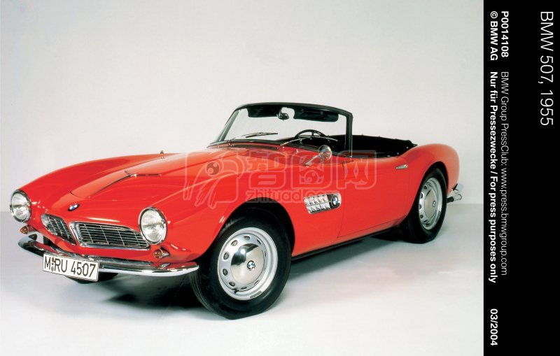紅色車身轎車元素