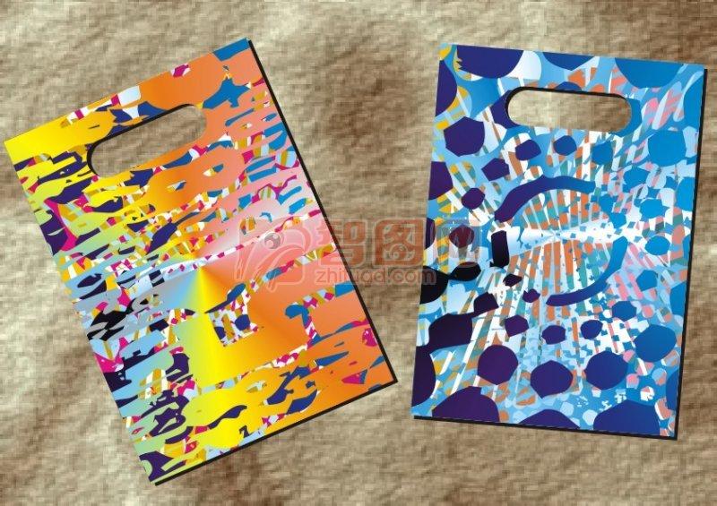 彩繪藝術數字-手袋