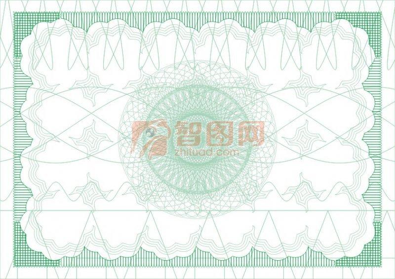 綠化環保許可證書紋