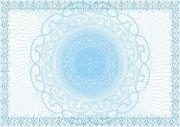 冰蓝水晶商品类证书纹