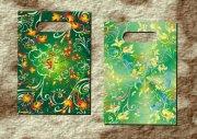綠葉鮮花精品袋