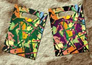 特色條紋手袋設計