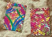 鮮艷花朵包裝袋設計